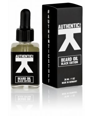 AUTHENTIC STUFF - Bartöl BLACK EDITION - 30 ml